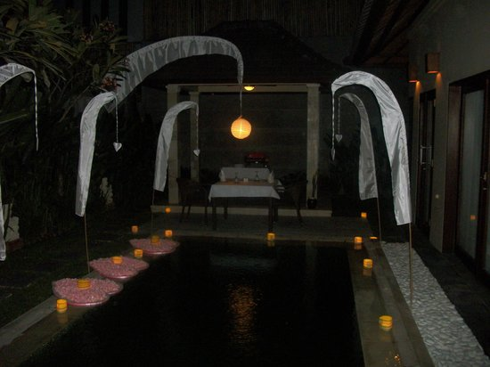 Breakfast By Our Private Pool Picture Of Nyuh Bali Villas Seminyak Tripadvisor
