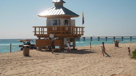 Residences at Intracoastal Yacht Club : plage de sunny isles