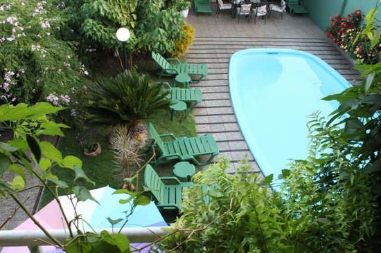 Green House Hostel: piscina