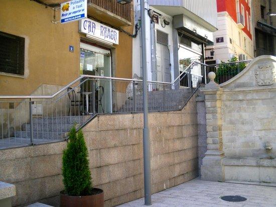Can Ramon : Foto Exterior del restaurante.