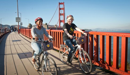 Ride The Golden Gate Bridge With Friends Picture Of Bay