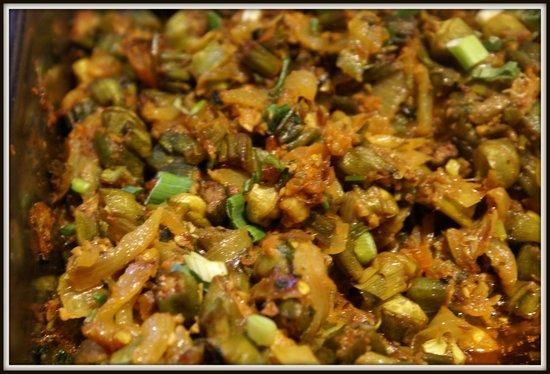 Gandhi India's Cuisine : Bhindi (Okra) Masala