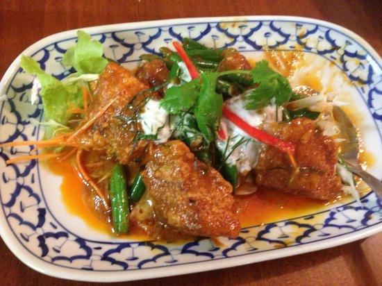Cha Ba thai spicy: Fish choo chee