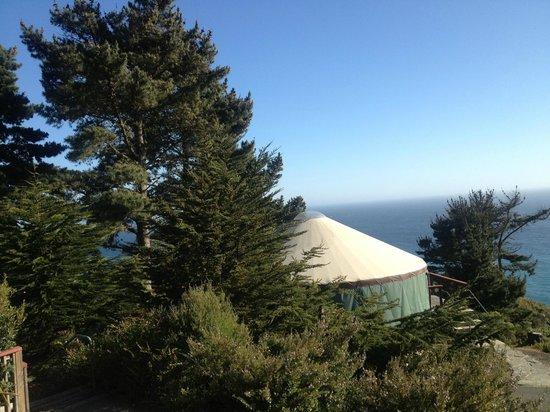 Treebones Resort : Another spectacular view!