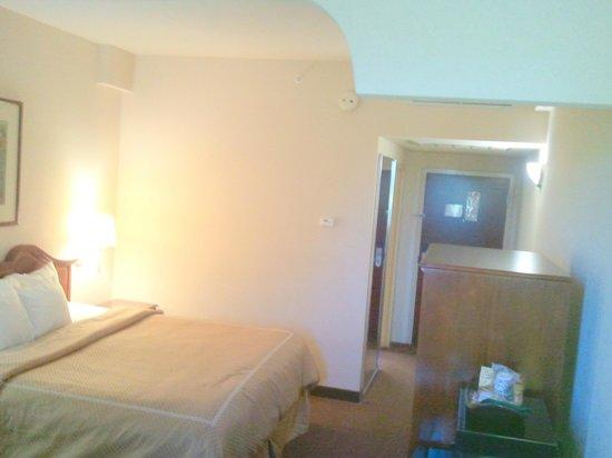 Comfort Suites: Sleeping area