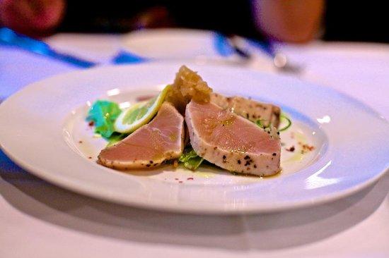 Inaba Steakhouse Garden Restaurant: Albacore Cappricio appetizer