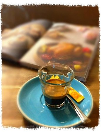 Little Lane Espresso: Love my shot on a Saturday Morning