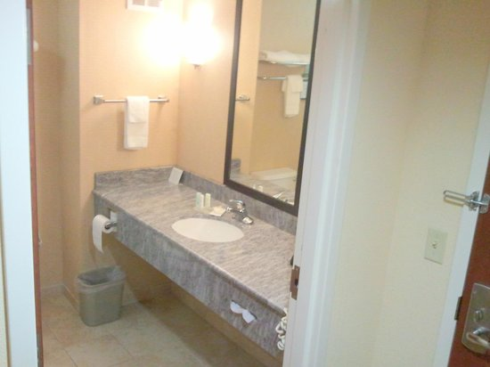 Comfort Inn & Suites Atoka : A little stingy on the towels