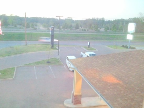 Comfort Inn & Suites Atoka : View could have been better