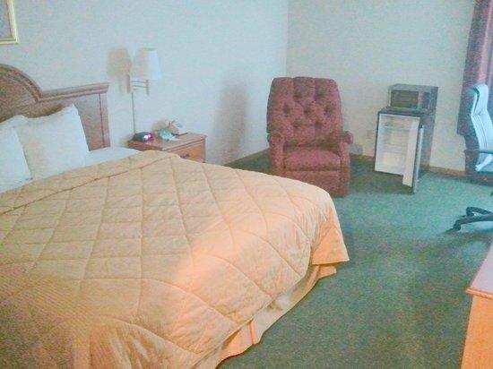 Comfort Inn Circleville: Sleeping area