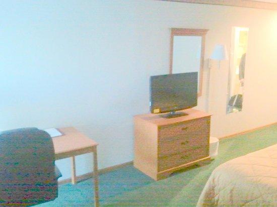 Comfort Inn Circleville: Standard hotel furnishings