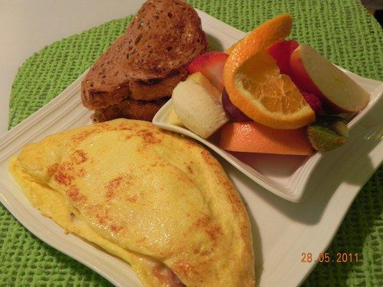 Aux Douceurs Du Passant: Omelette au goût