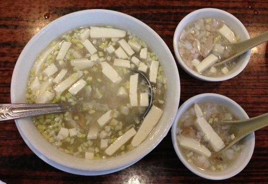 Hong Kong Clay Pot Restaurant: Seafood & Tofu Soup