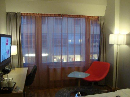 Thon Hotel Lillestrom: ventanas