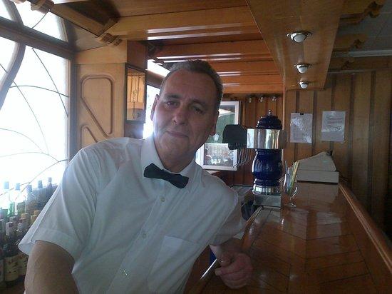Hotel Palma Mazas: Eduardo - barman