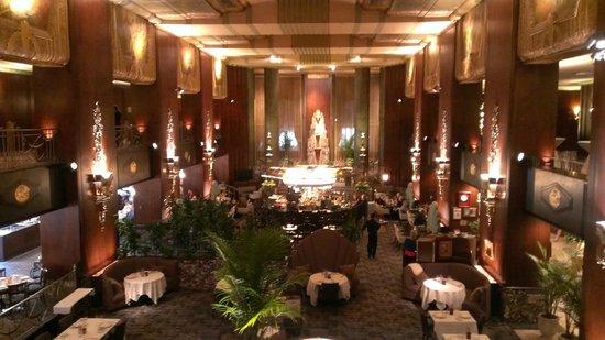 Hilton Cincinnati Netherland Plaza: Orchids at Palm Court