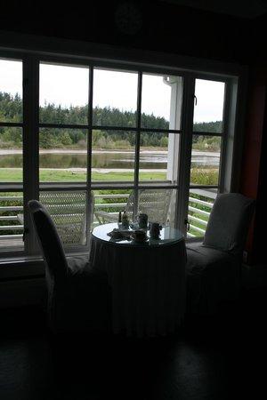 The Inn on Orcas Island: Breakfast View