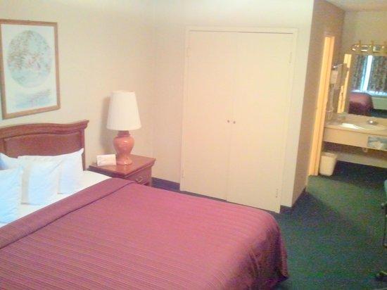 Quality Inn: Room area