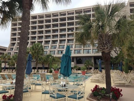 Backyard Porch Hilton Head : outdoor space  Foto di Hilton Head Marriott Resort & Spa, Hilton