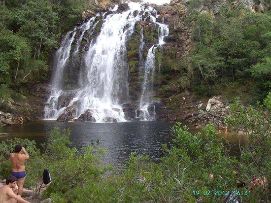 Conceição do Mato Dentro, MG: Cachoeira Serra Morena, Serra do Cipó