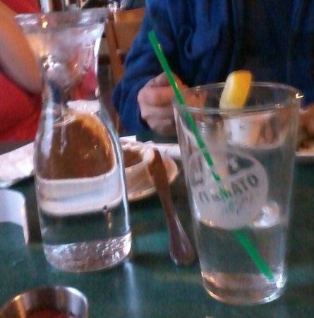 The Vase Of Water They Brought For Refills Only Filled 23 Of Our