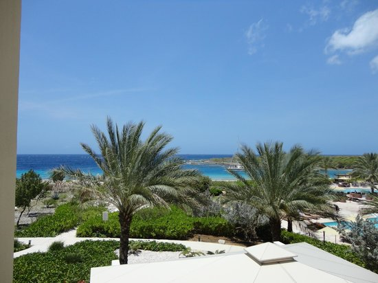 Santa Barbara Beach & Golf Resort, Curacao: View from the lobby