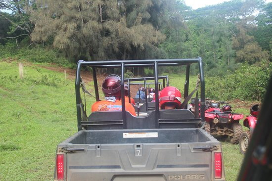 ATV Outfitters Hawaii: Headed Up The Trail