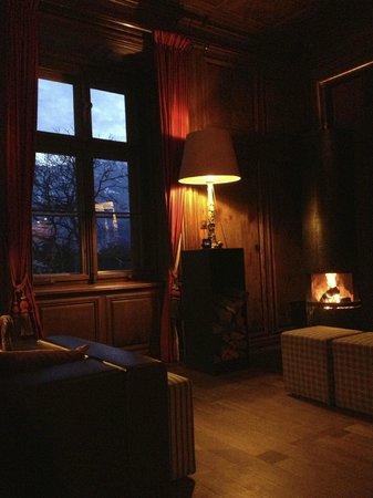 Schauenstein Schloss Hotel restaurant: Raucherzimmer