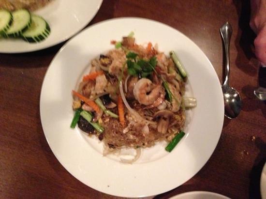 Bua Thai: pad Woon Sen