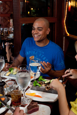 Elbow Room: Dinner with friends