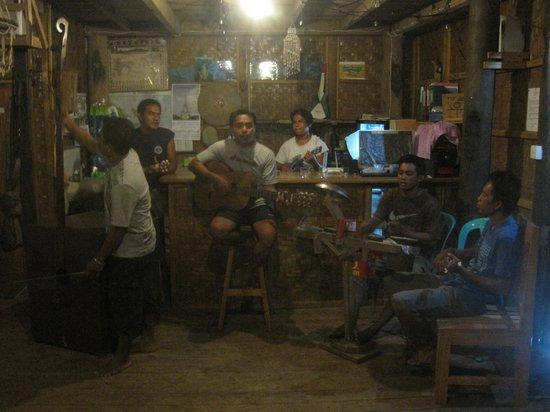 Bunaken SeaGarden Resort: kolongkong band