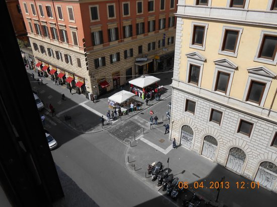 Hotel Gioberti: View from hotel room