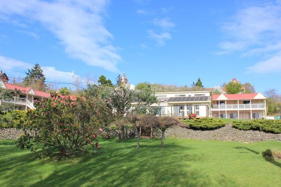 Port Townsend Inn: Our garden