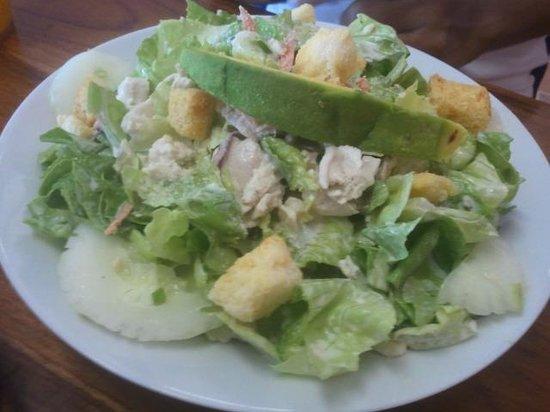 Jill's Cafe: Chicken salad a friend had, she said was yummy