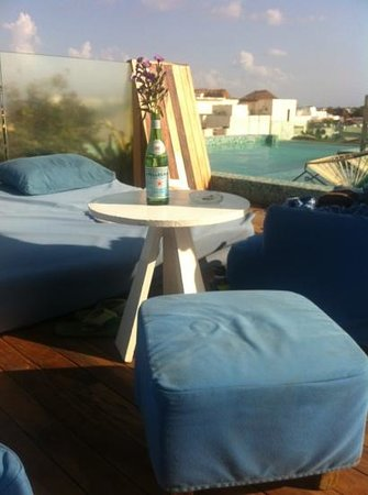 Be Playa Hotel: para tomar el sol