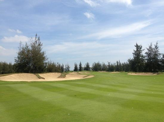Montgomerie Links: Awesome day golfing!