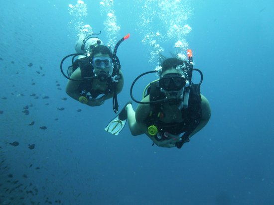 Goodtime Adventures, Koh Tao: Happy bubbles