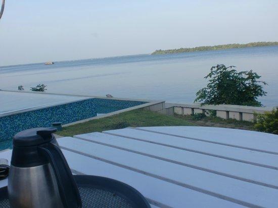 Lemon Tree Vembanad Lake Resort: view from room
