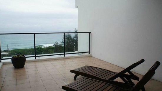 If Ocean B&B : Our balcony