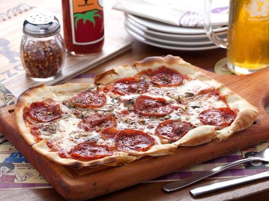 Pizza e Birra: Premium ItalianThin Curst Pizza