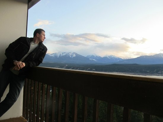 Rocky Mountain Springs Lodge and Restaurant: The view from here, Rocky Mountain Springs Lodge