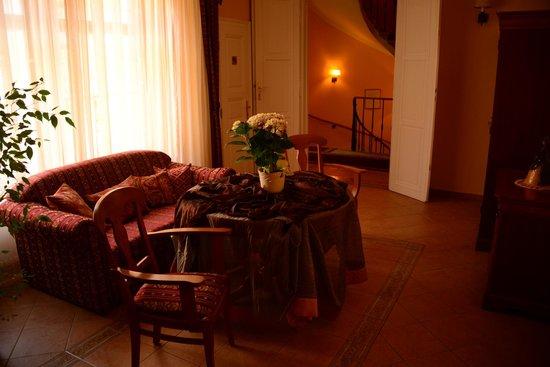 Hotel Wollner: Sala de Estar dos quartos
