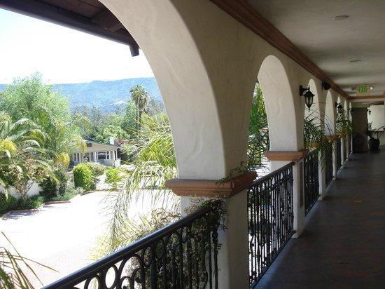 Chantico Inn: Hotel's  Patio