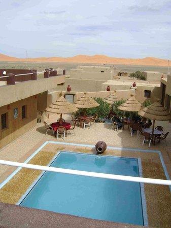 L'Homme Du Desert: Vue de la terrasse