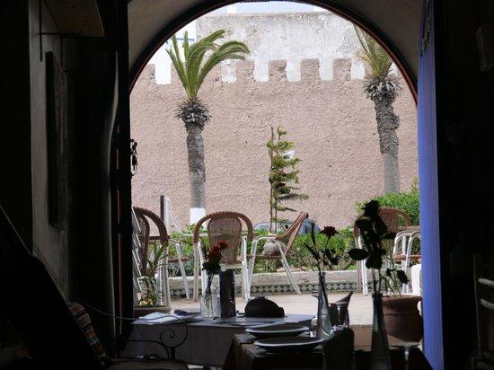 Gnawa Blues : vue de l interieur du resto,magique