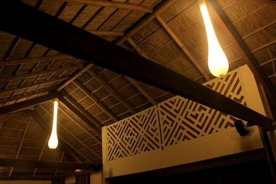 Green Organic Villas : romentic roof and lighting
