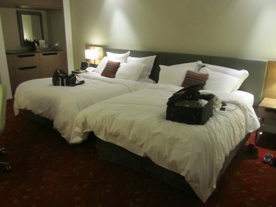 Melbourne Marriott Hotel: Very comfortable beds