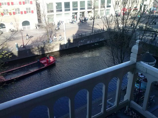ووترفرونت هوتل أمستردام: Vista dal Balcone