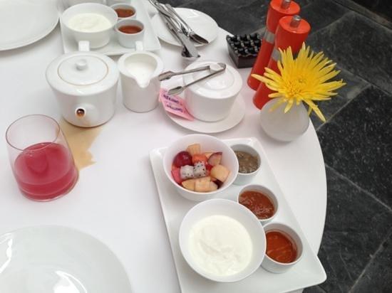 Al Najada - Souq Waqif Boutique Hotels: breakfast at Al Najada