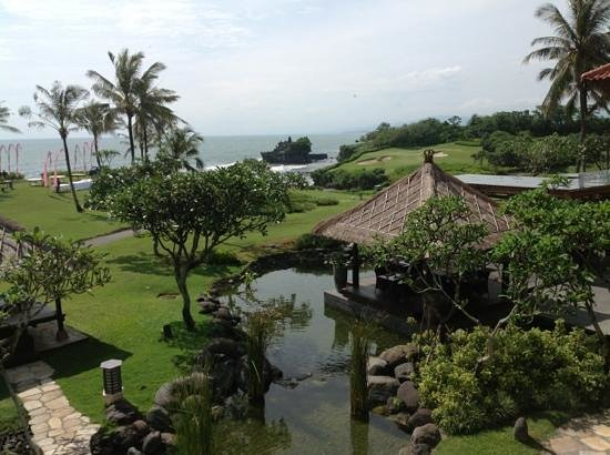 Pan Pacific Nirwana Bali Resort: great view from the sunset lounge